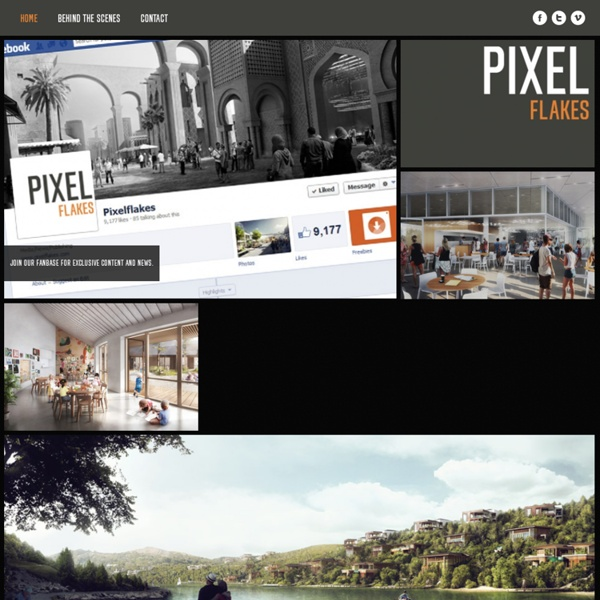 Architectural Marketing @ Pixelflakes