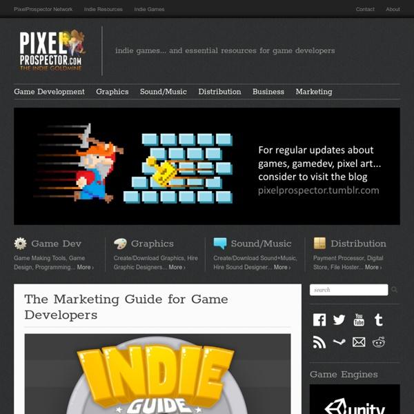 PixelProspector - the indie goldmine