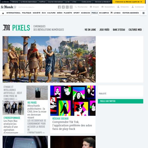 Pixels : Toute l'actualité sur Le Monde.fr.