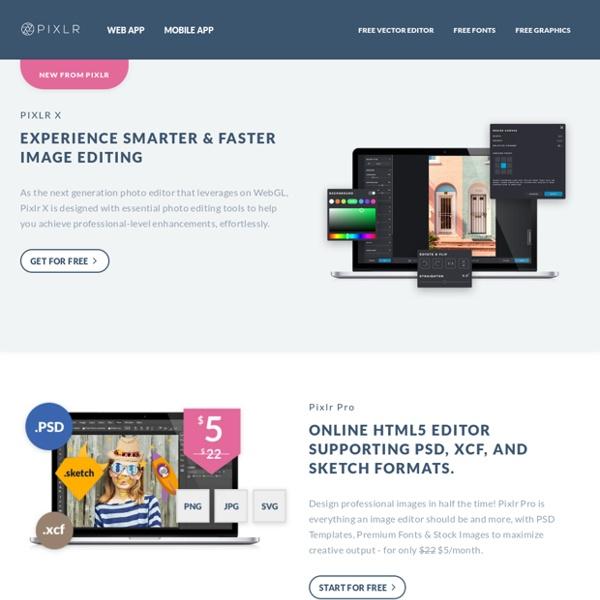 Pixlr: l'editor di immagini sempre disponibile