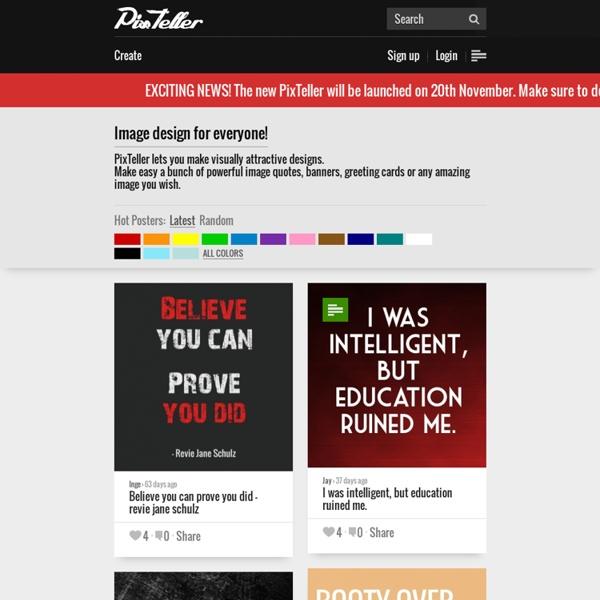 PixTeller - Image Maker