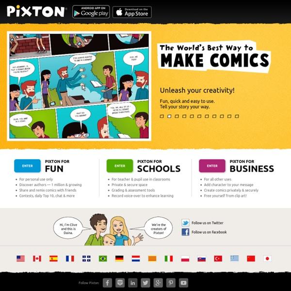 World's Best Way to Make & Share Comics