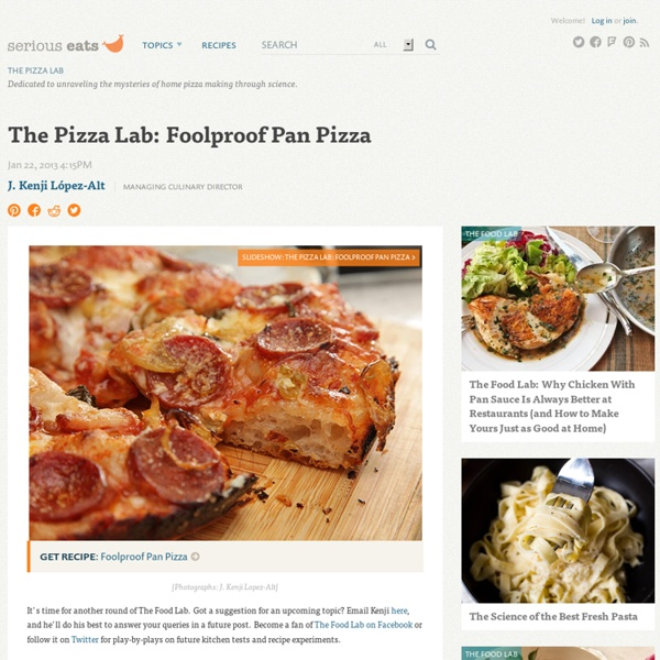 Foolproof Pan Pizza