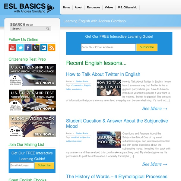 The best place online to learn English for free