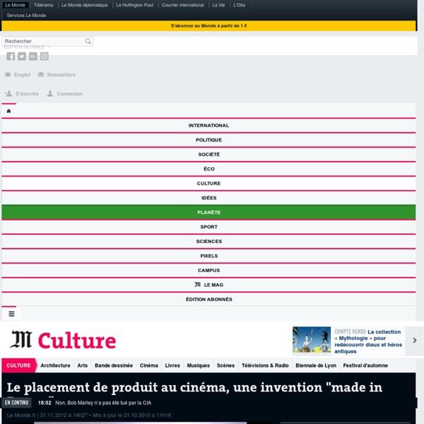 """Le placement de produit au cinéma, une invention """"made in France"""""""
