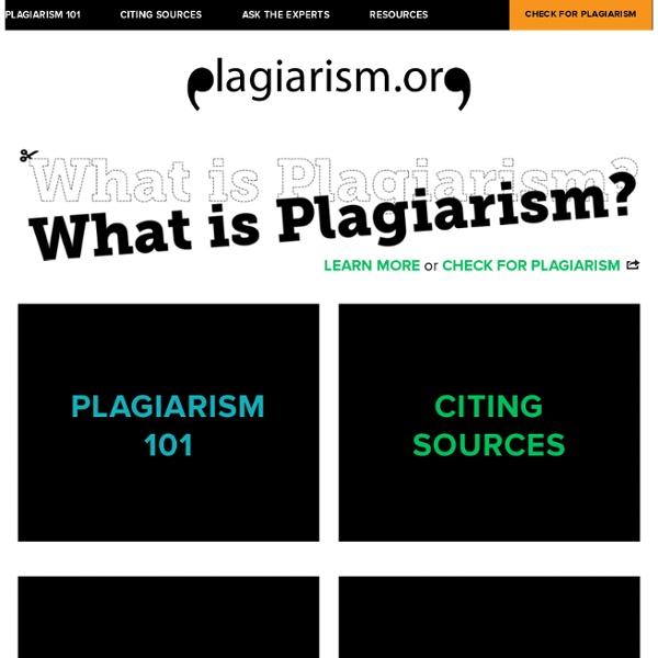 Plagiarism.org