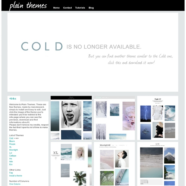 Plain Themes