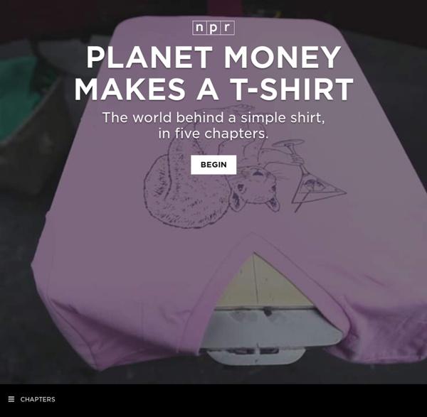 Planet Money Makes A T-Shirt