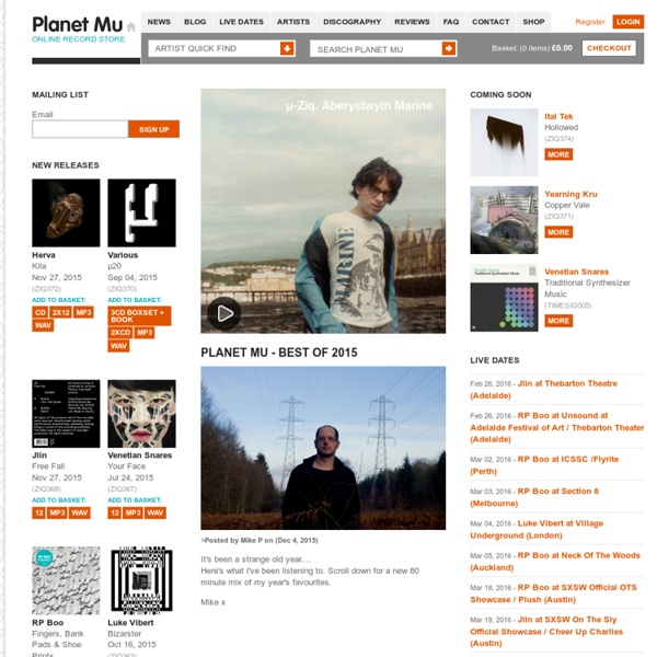 Planet Mu Records