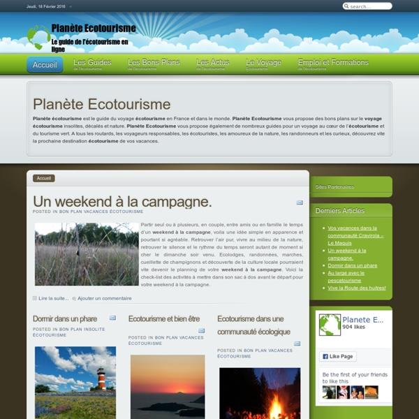 Planète Ecotourisme