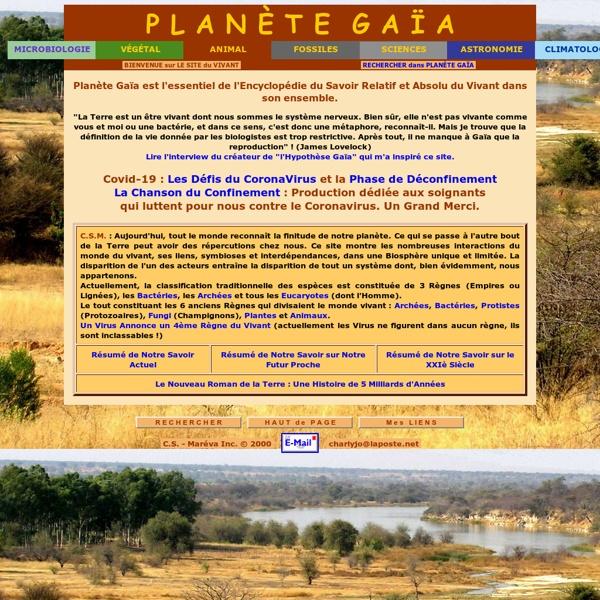 Planète Gaia : l'essentiel du savoir sur le vivant