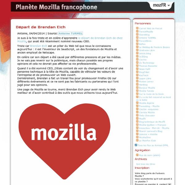 Planète Mozilla francophone