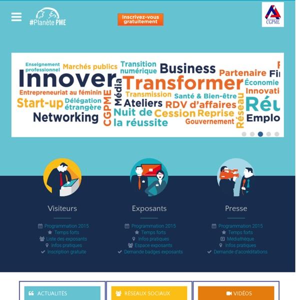 Planete PME : le salon PME et Dirigeants, jeudi 28 juin 2012 au Palais des Congrès de Paris