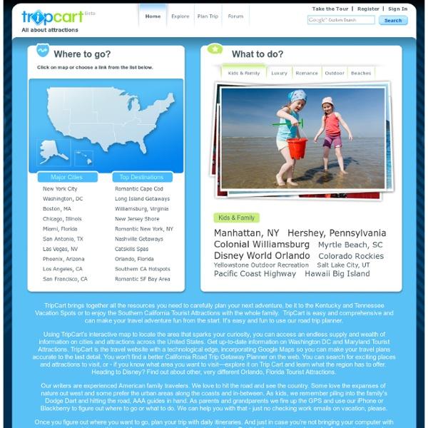 TripCart - Road Trip Planner