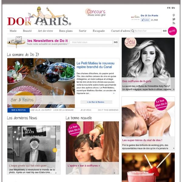 Do it in Paris, le Paris de la Parisienne – Tendances Mode, Beau