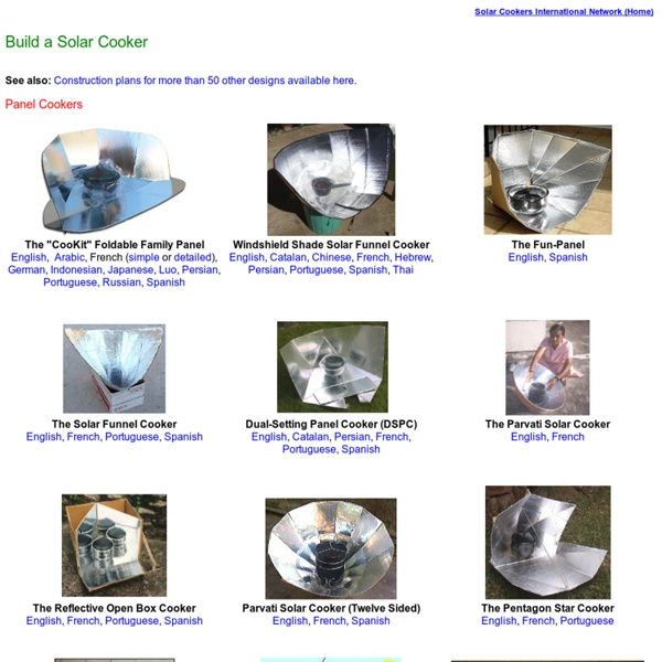 The Solar Cooking Archive