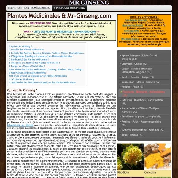 Comment Utiliser les Plantes Médicinales ?