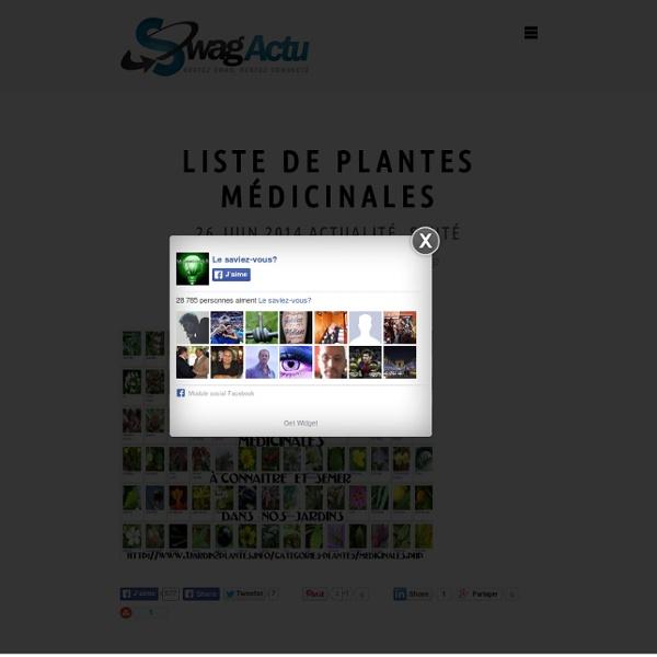 Liste de plantes m dicinales pearltrees for Liste plantes
