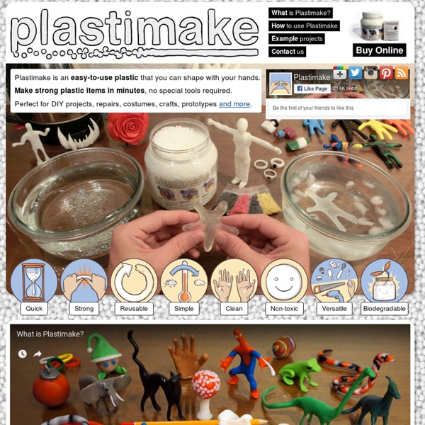Plastic you can shape with your hands