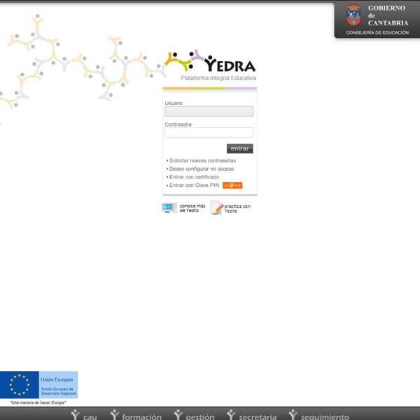 Plataforma Educativa YEDRA - Identificación