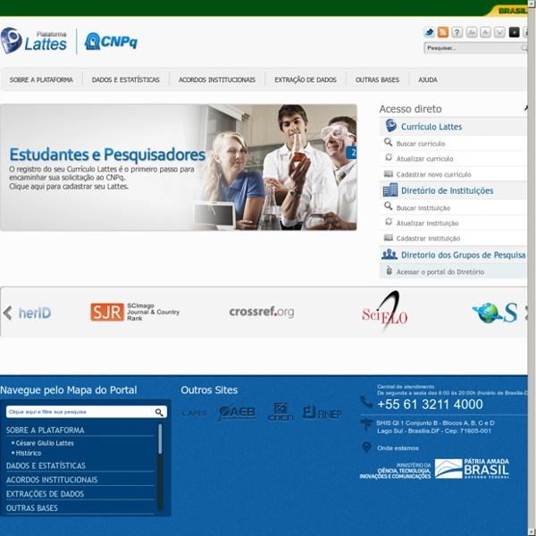 Plataforma Lattes : annuaire brésilien de chercheurs