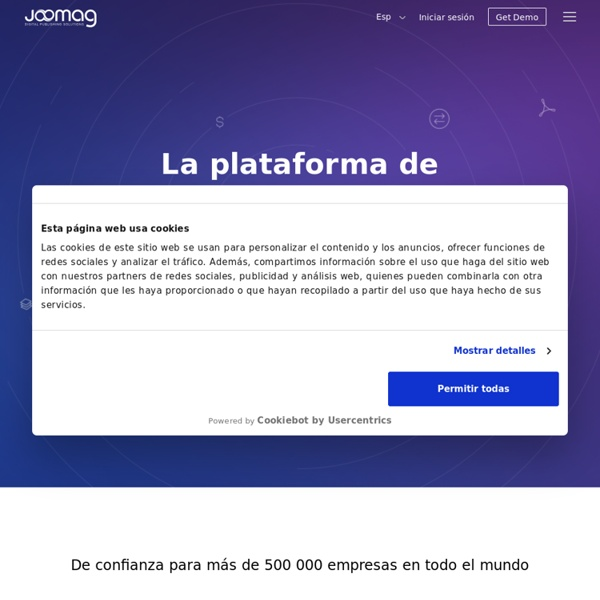 Plataforma de publicación digital para todo el mundo