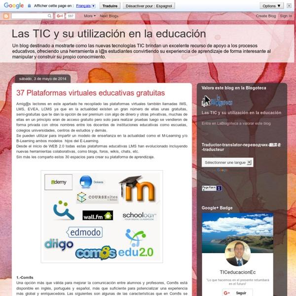 32 Plataformas virtuales educativas gratuitas