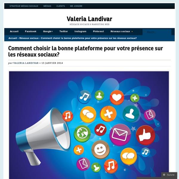 Comment choisir la bonne plateforme pour votre présence sur les réseaux sociaux?