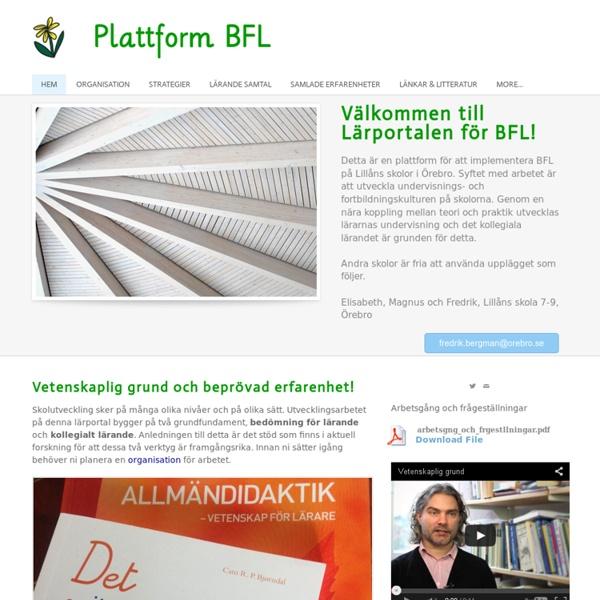 Plattform BFL - Hem