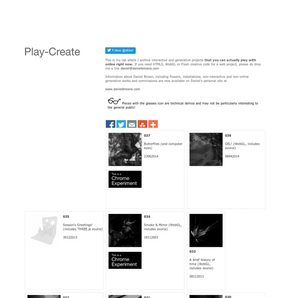 Play - Create Homepage