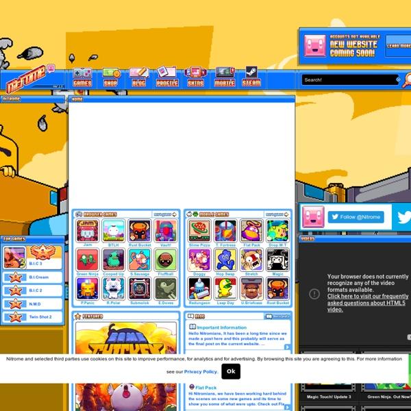 Nitrome - Play Free Games