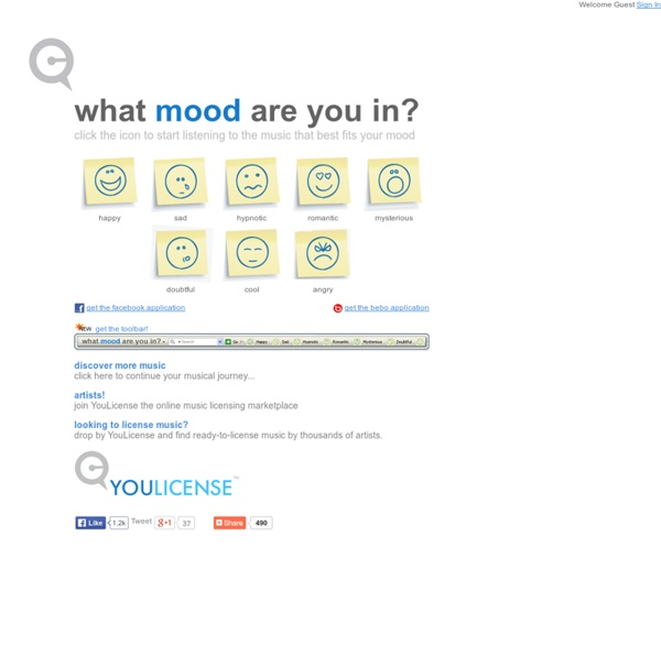 Music To Listen To By Your Mood