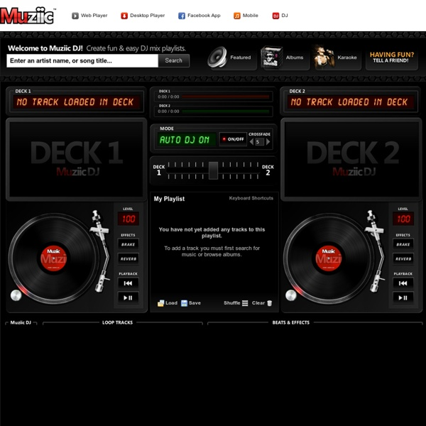 DJ - Create fun & easy DJ mix playlists with YouTube ...