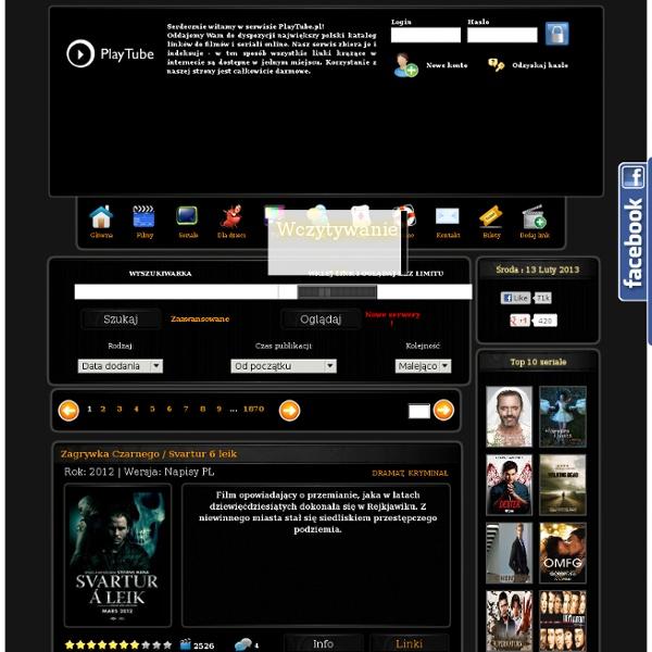 Playtube.pl - Filmy online i seriale