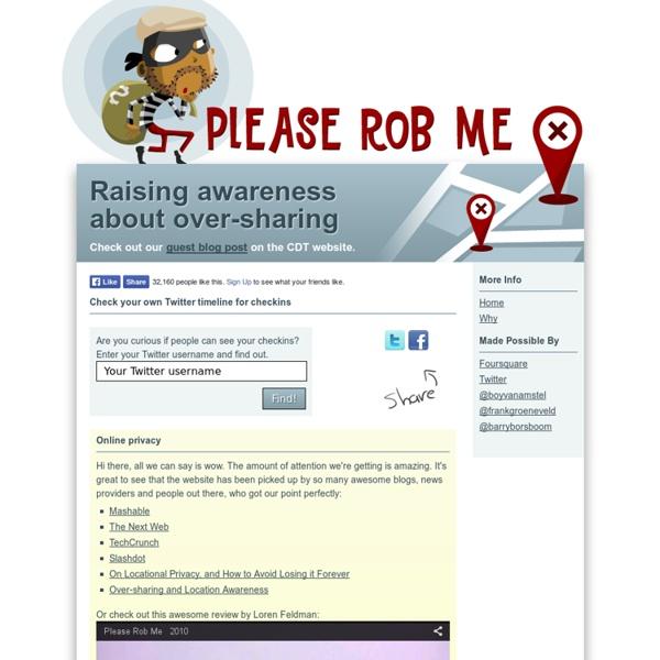 Please Rob Me