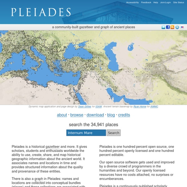 Pleiades.stoa.org