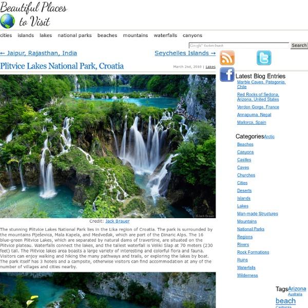 Stumblers Who Like Plitvice Lakes National Park, Croatia