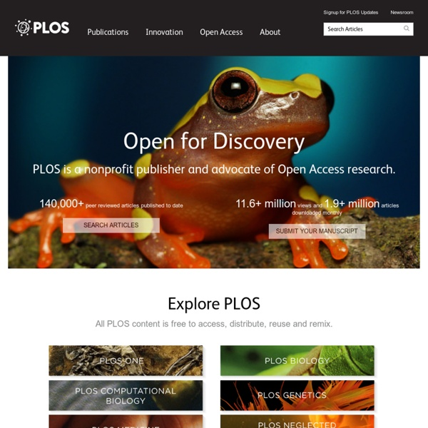 PLoS - Public Library of Science & Medicine