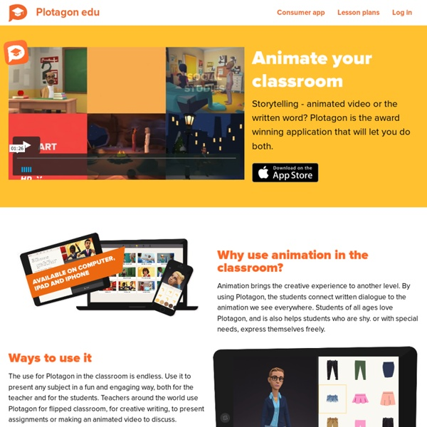 Plotagon Education - Animate your classroom