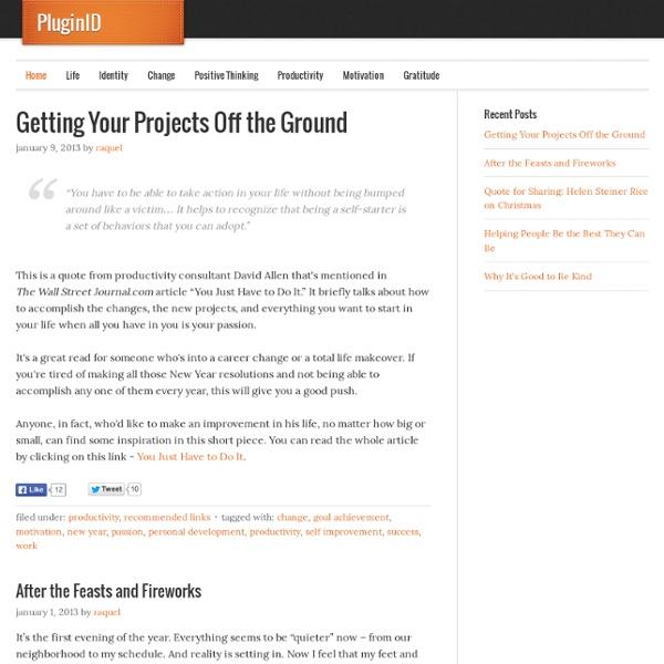 Personal Development ~ PluginID