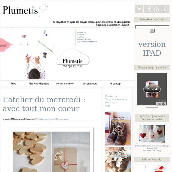 Le blog de Plumetis, le magazine en ligne du craft et de la création