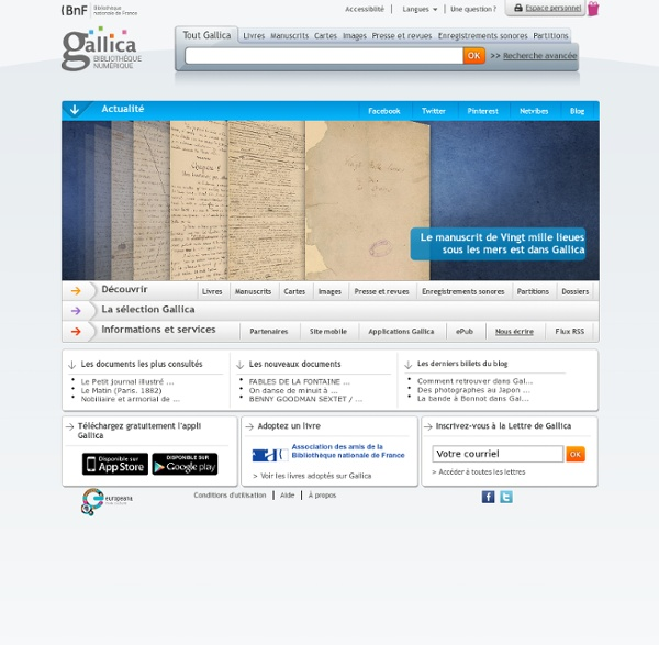 National Digital Library of France