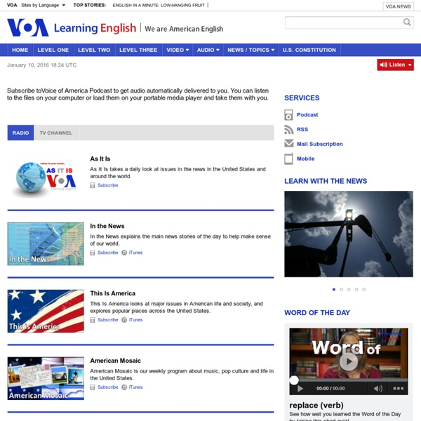 Podcast - VOA - Voice of America English News