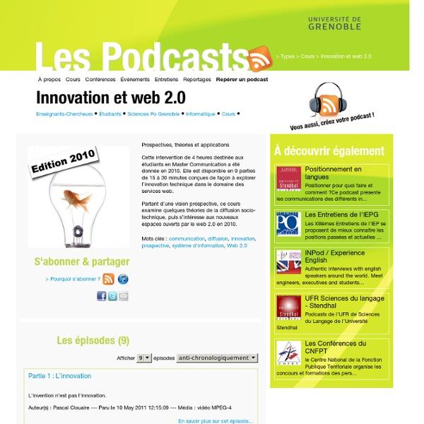 Innovation et web 2.0