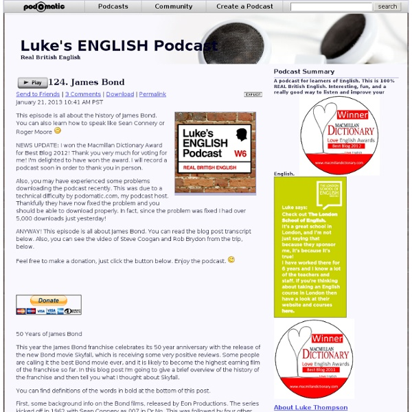 Podcast - Luke's ENGLISH Podcast