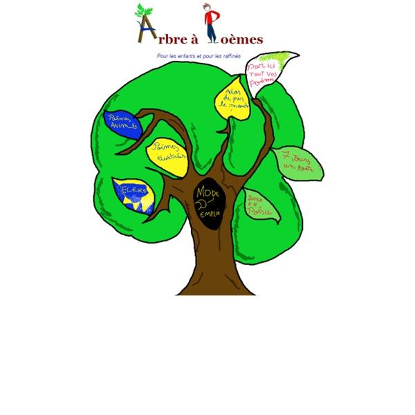 Arbre à poèmes - Poésie pour les enfants et pour les raffinés