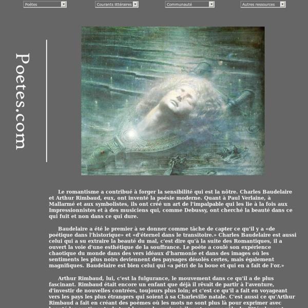 Poetes.com - Accueil