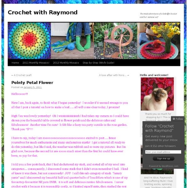 Crochet with Raymond