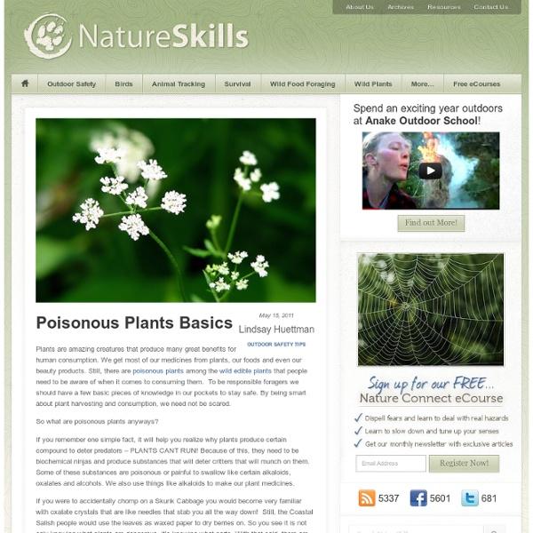 Poisonous Plants Basics