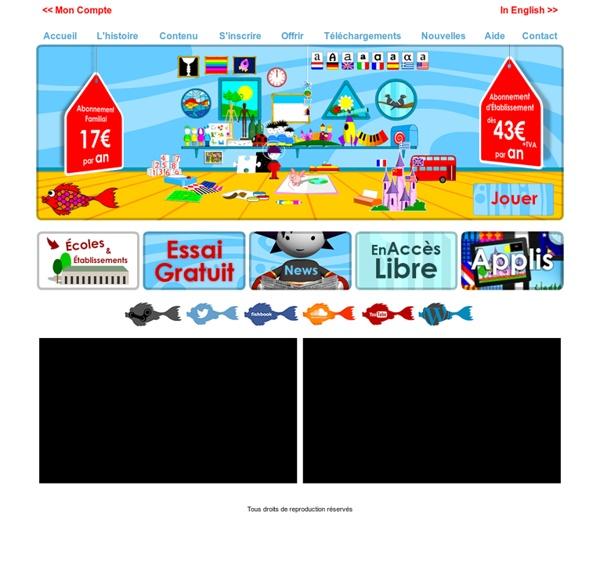 Poisson rouge site de jeux pour enfants pearltrees - Jeux de poisson rouge gratuit ...
